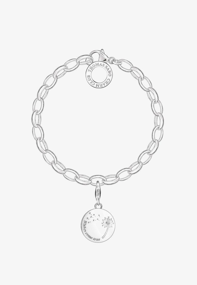 THOMAS SABO - PUSTEBLUME WISHES COME TRUE  - Bracelet - silver-coloured/white