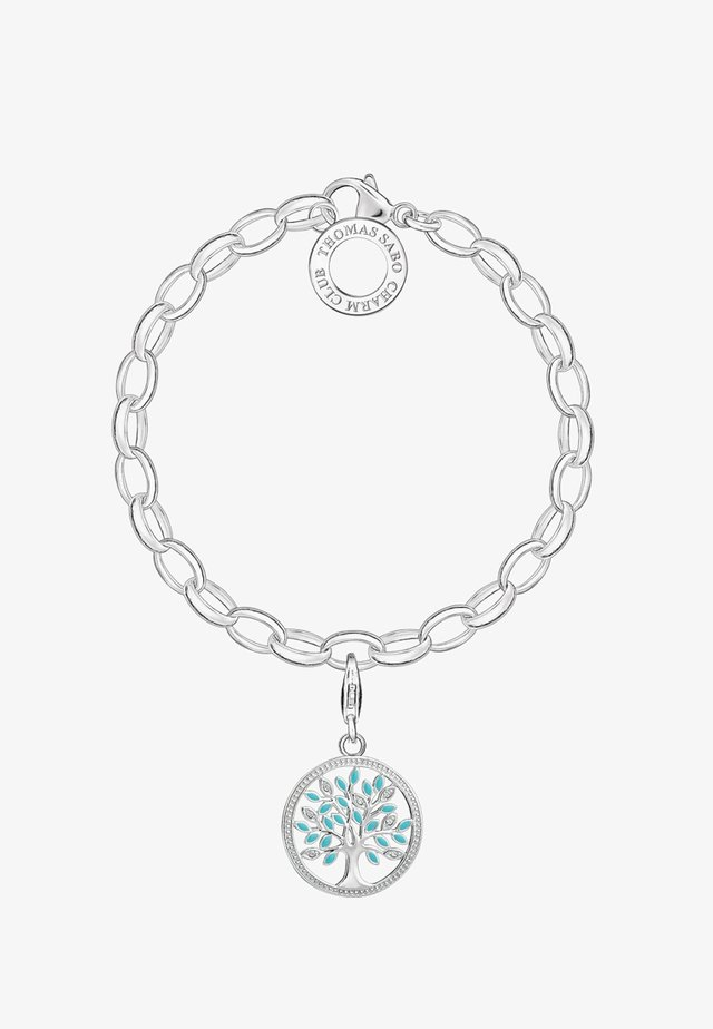 TREE OF LOVE  - Bracciale - silver-coloured/turquoise