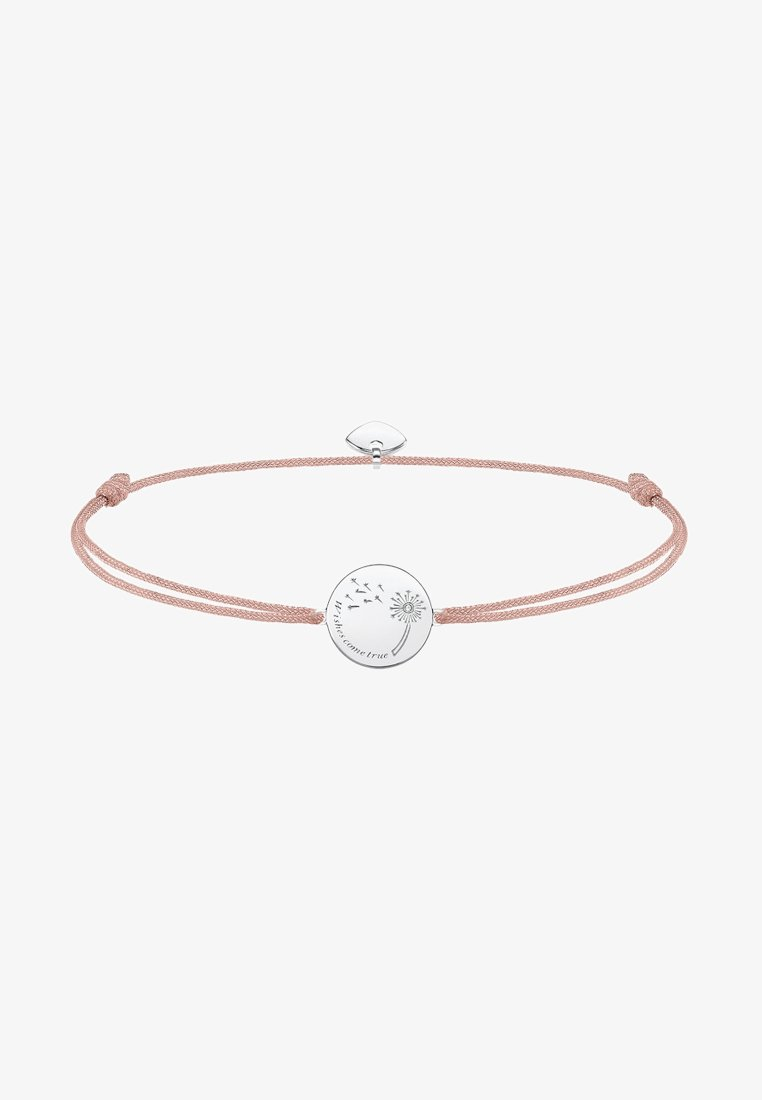 THOMAS SABO - LITTLE SECRET WISHES COME TRUE  - Armband - silver-coloured/beige