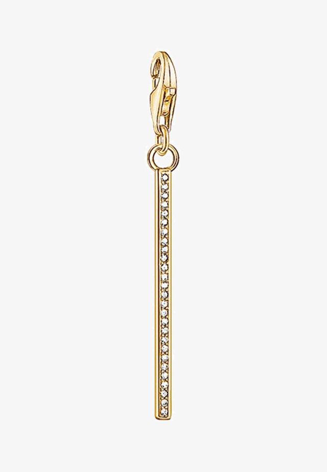 VERTICAL BAR  - Berlocker - gold- coloured,white