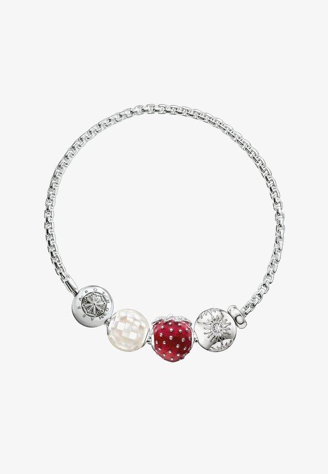 ERDBEERE - Bracelet - silver-coloured