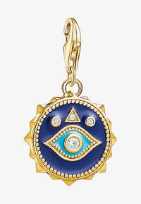 THOMAS SABO - Vedhæng - yellow gold coloured/white/turquoise/blue - 1
