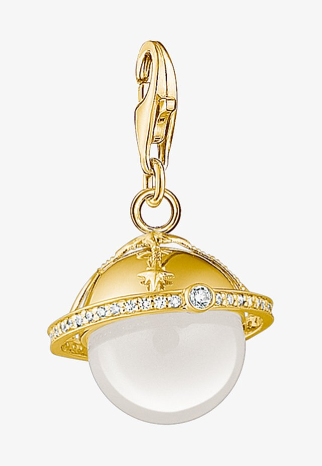 CHARM - Necklace - yellow gold/white