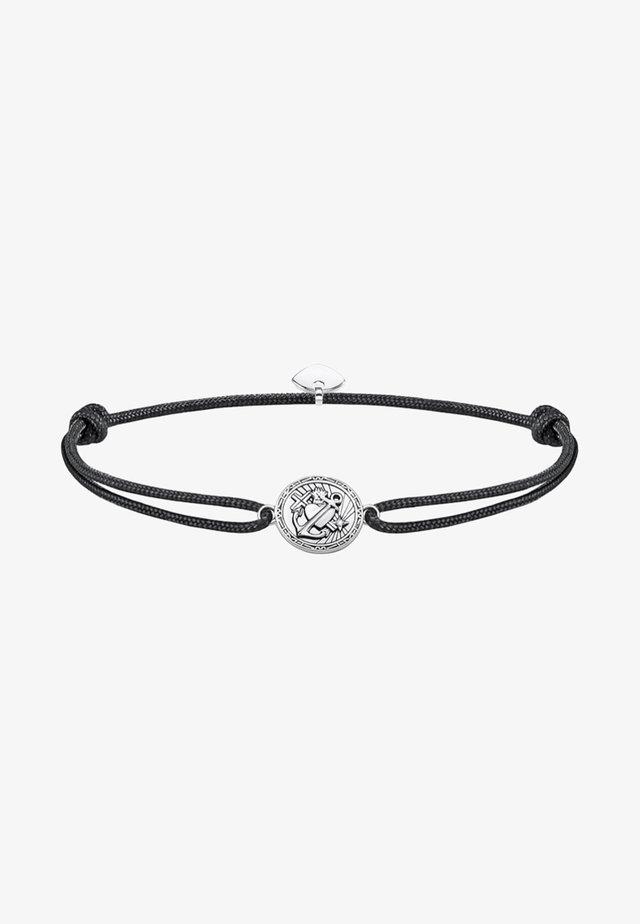 LITTLE SECRET GLAUBE, LIEBE, HOFFNUNG - Armband - black/white