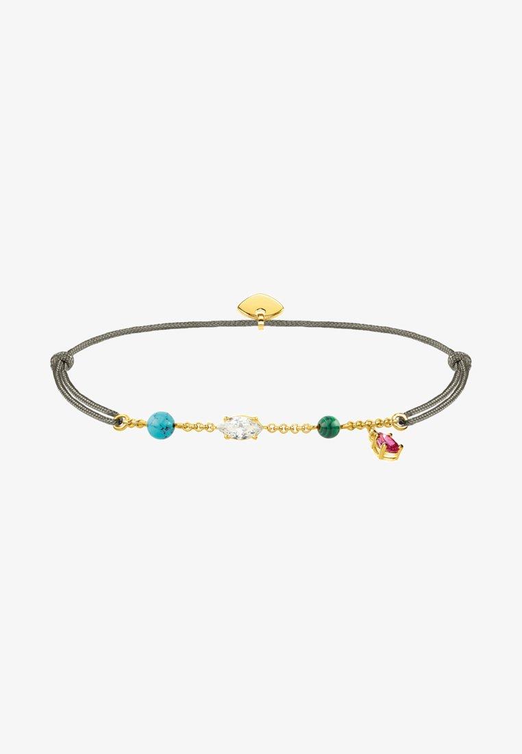 THOMAS SABO - LITTLE SECRET  - Armband - grau/gold/bunt