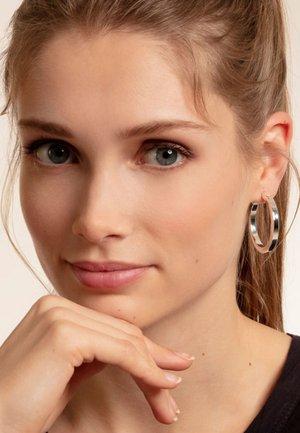 CREOLEN CLASSIC - Earrings - silver