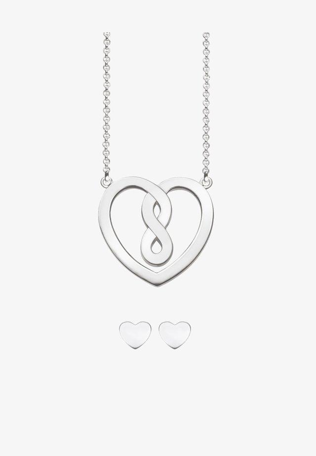 KETTE & OHRSTECKER VALENTINSTAG - Halsband - silver