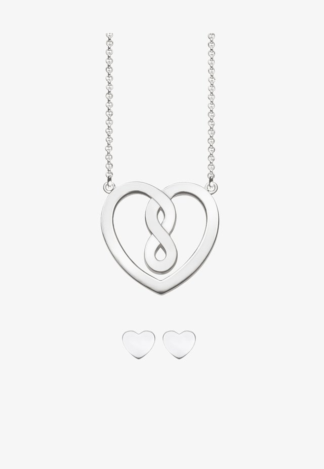 KETTE & OHRSTECKER VALENTINSTAG - Collana - silver