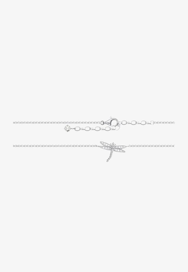 Armband - silver/white