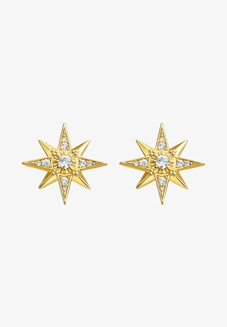 THOMAS SABO - STERN - Earrings - white/gold-coloured