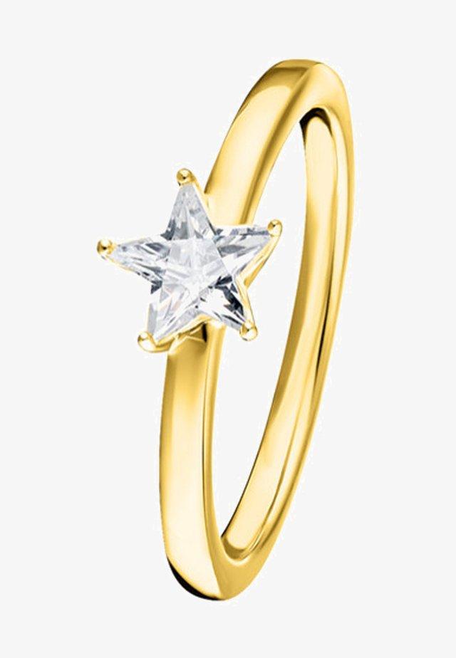 FUNKELNDER STERN - Ring - gold-coloured