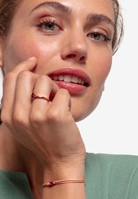 THOMAS SABO - LITTLE SECRET - Armband - beige/rosegold-coloured - 0