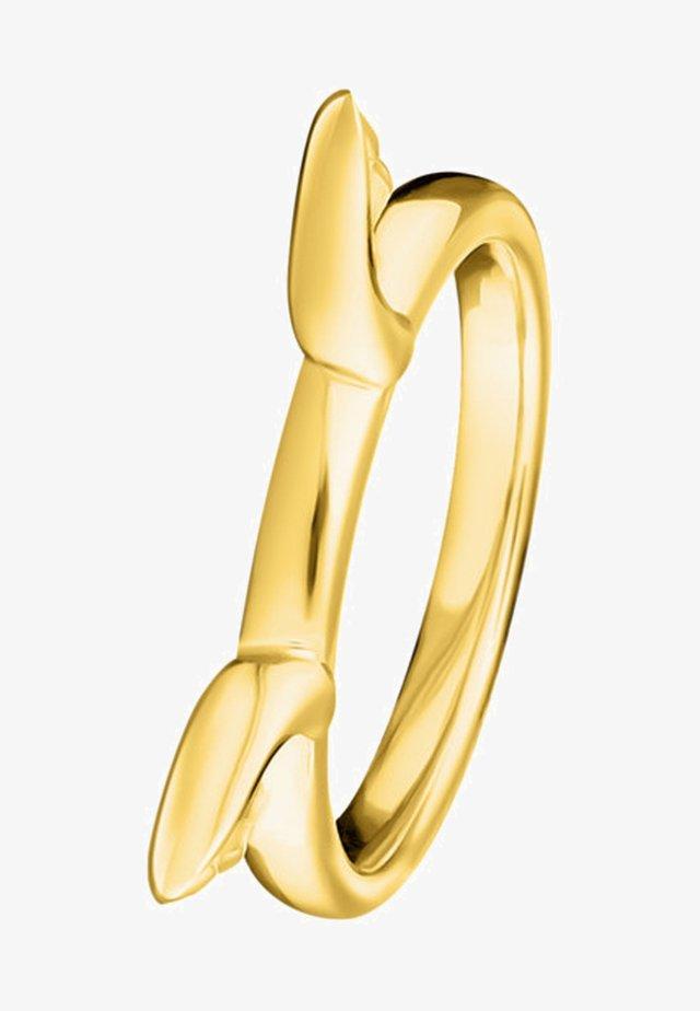 KATZENOHREN - Ring - gold-coloured