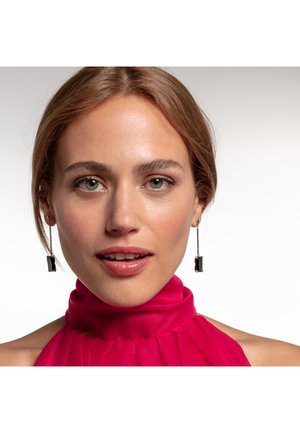Earrings - black/silver