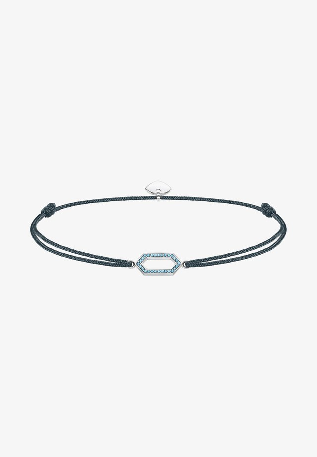 Armband - turquoise/grey/silver