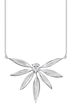KETTE 925 STERLINGSILBER - Necklace - weiß, silberfarben