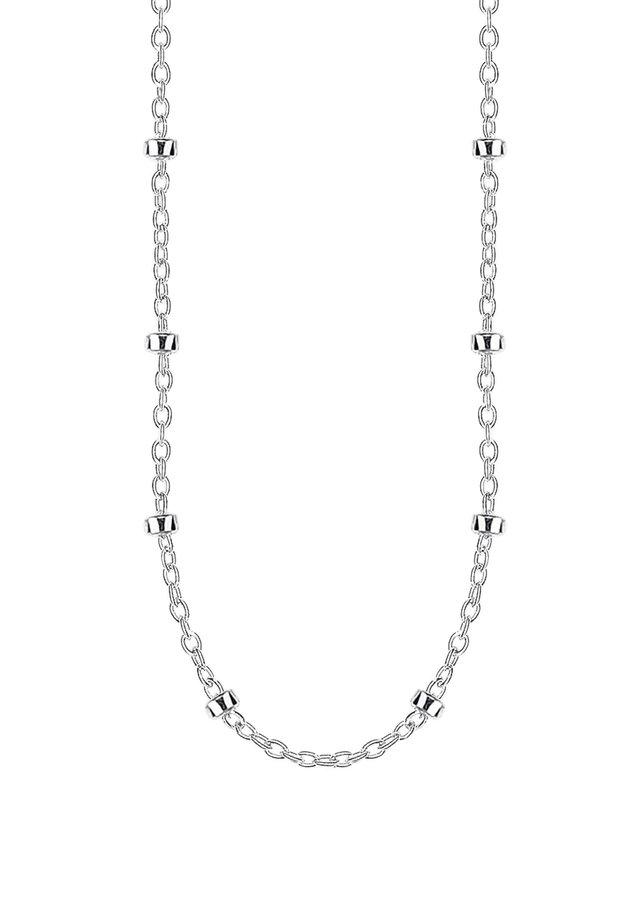 THOMAS SABO ERBSKETTE SILBER 925 STERLINGSILBER - Necklace - silberfarben