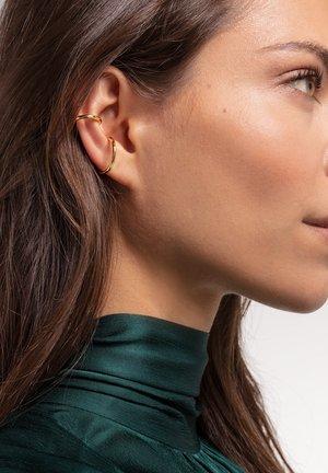 Earrings - gelbgoldfarben