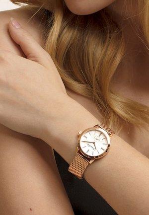 Uhr - rosegold-coloured/white