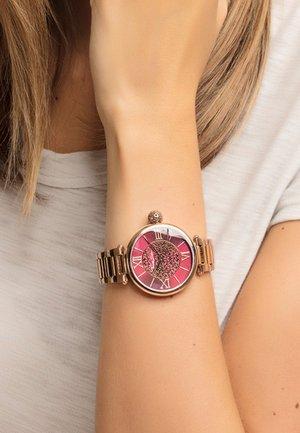 Horloge - rosegold-coloured/red