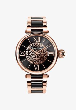 KARMA - Watch - rosegold-coloured, black