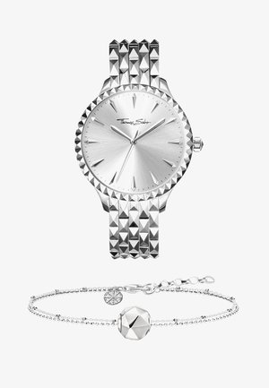 REBEL AT HEART MIT KARMABEAD SET  - Horloge - silver
