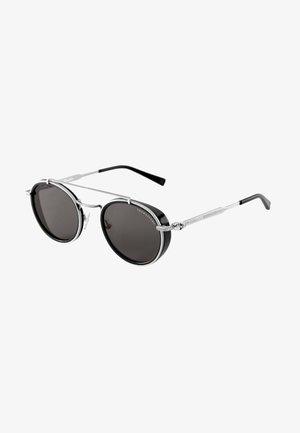 Lunettes de soleil - silver-glossy/glossy black