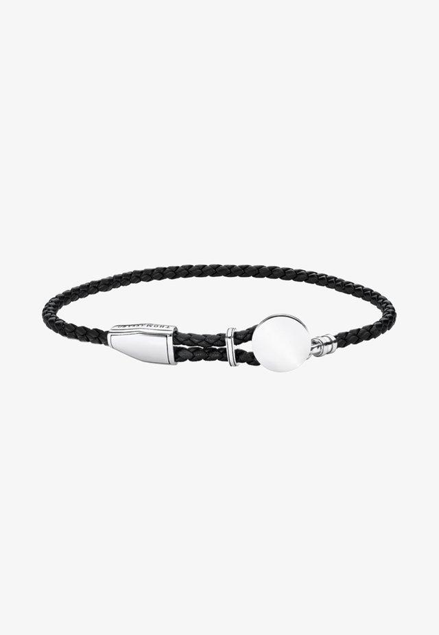 Armband - silver/black