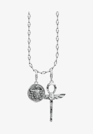 Halskette - silver-colourd