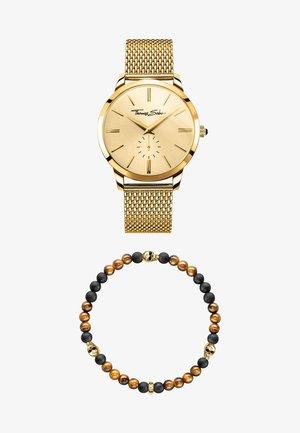 Horloge - yellow gold/brown