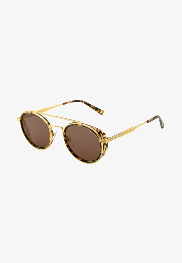 THOMAS SABO - Lunettes de soleil - yellow gold shiny/havana brown shiny