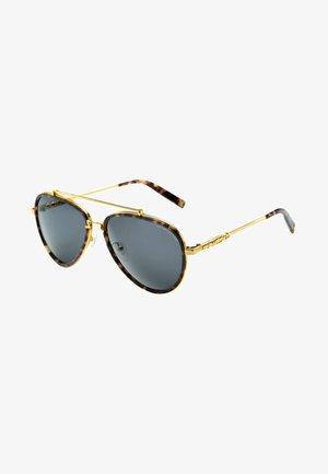 Solbriller - ellow gold shiny/havana brown shiny