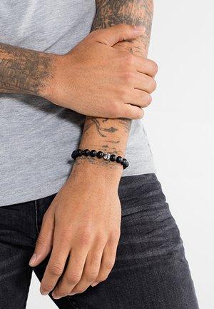 Armband - silver-coloured/ black