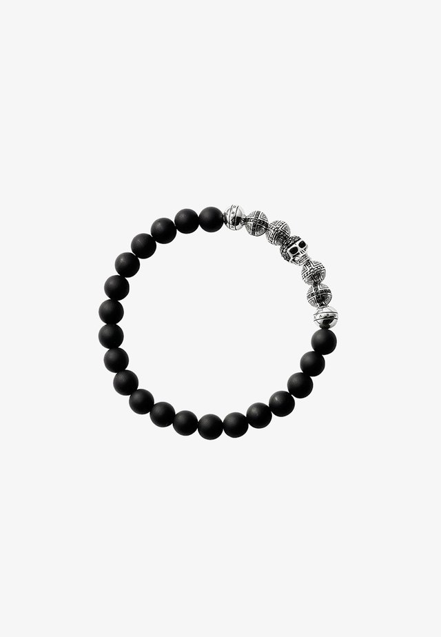 Armband - silver-coloured/black