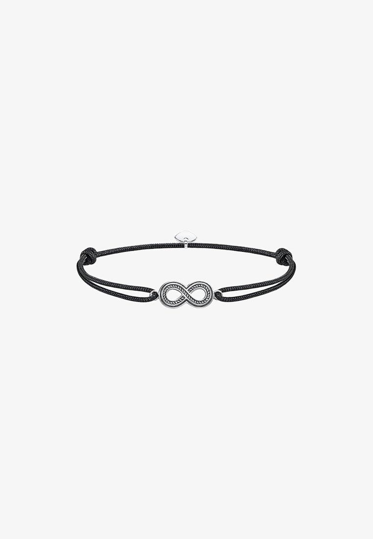 THOMAS SABO - LITTLE SECRET INFINITY - Armband - silberfarben, schwarz