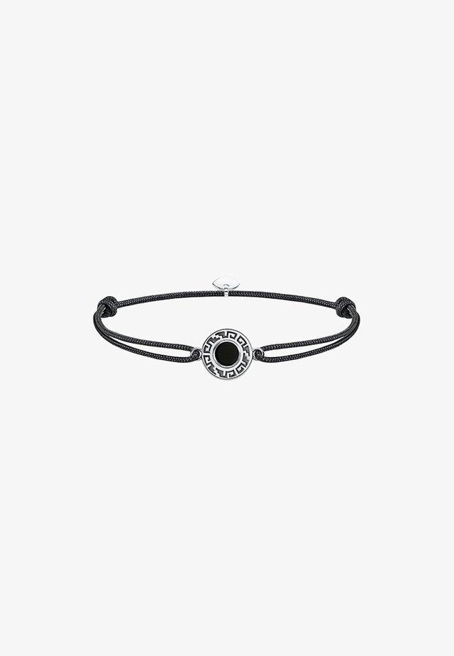 LITTLE SECRET ORNAMENT - Armband - argenté, noir