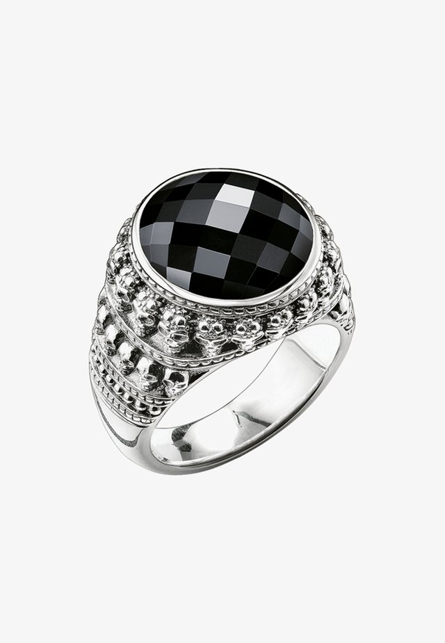 TOTENKOPF  - Bague - silver-coloured
