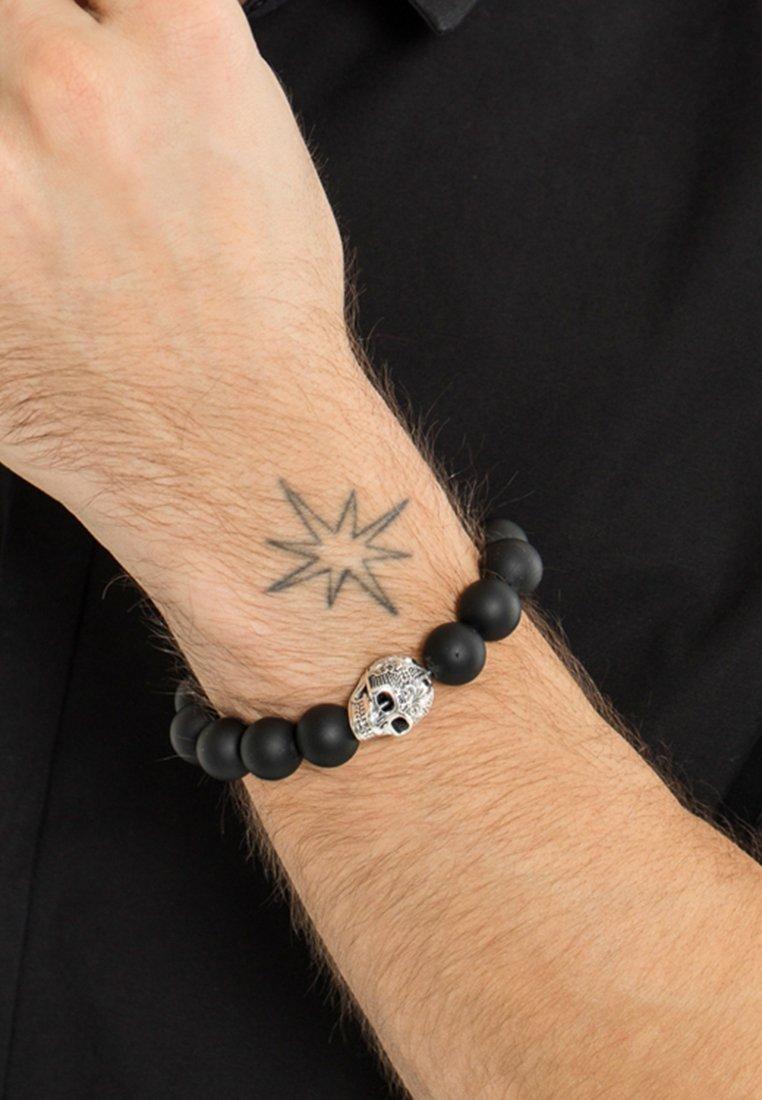 THOMAS SABO - Bracelet - silver-coloured/black