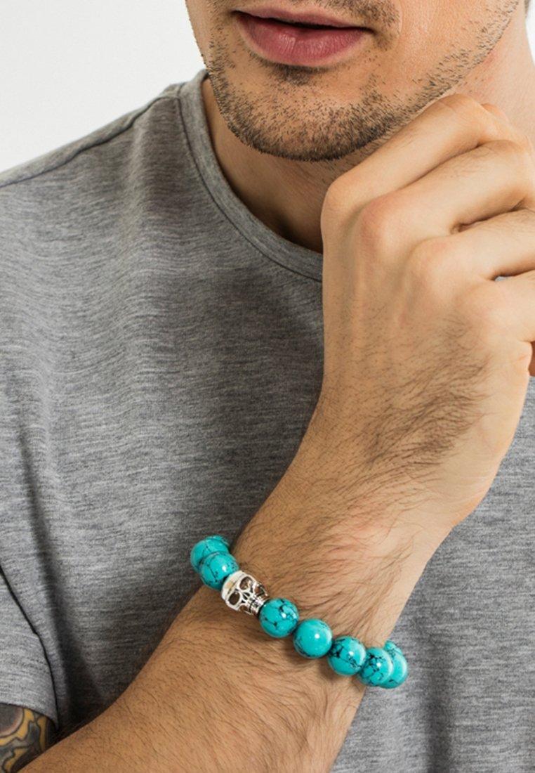 THOMAS SABO - Bracelet - silver-coloured/turquoise
