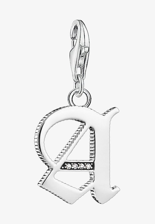 BUCHSTABE A - Pendant - silver-coloured