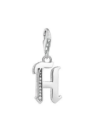BUCHSTABE H - Hanger - silver-coloured