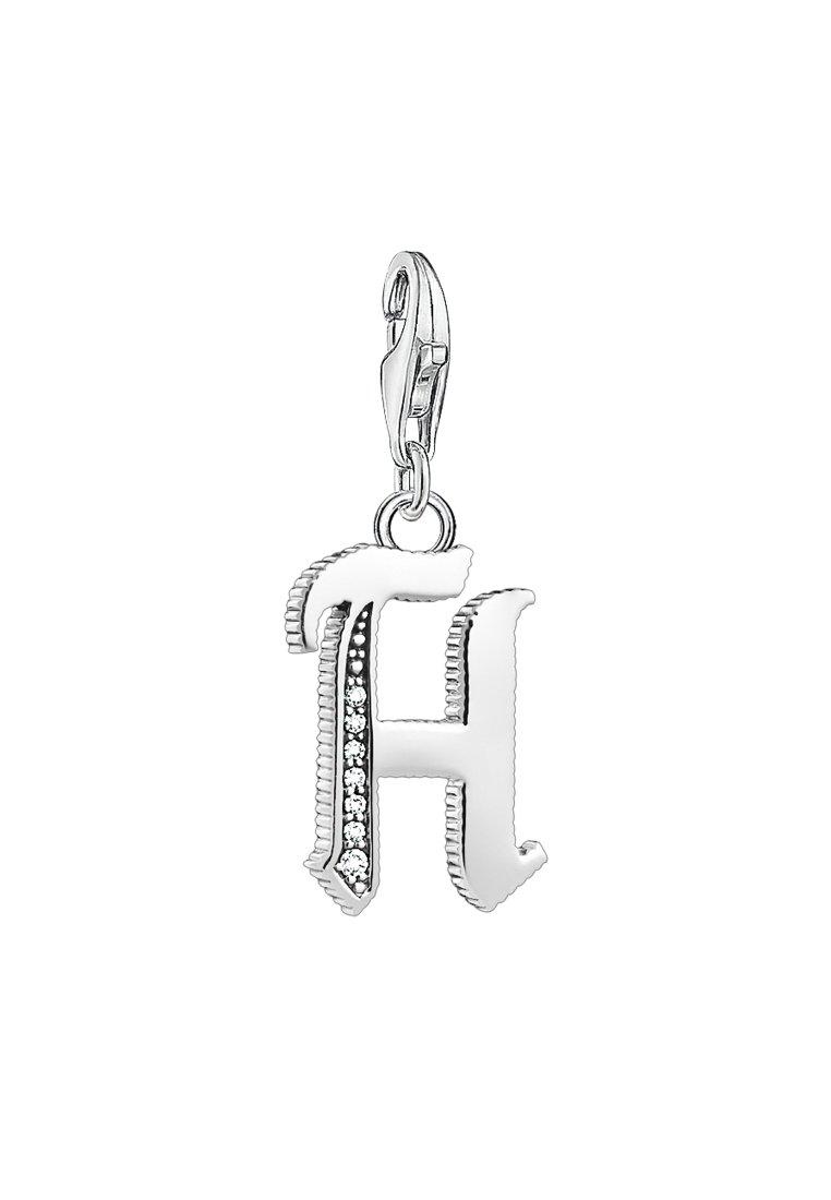 THOMAS SABO - BUCHSTABE H - Hanger - silver-coloured