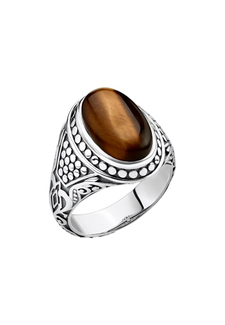 THOMAS SABO Ringe - silvery/brown