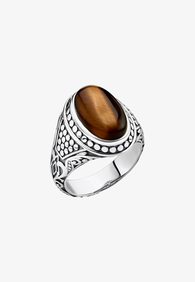 Ring - silvery/brown