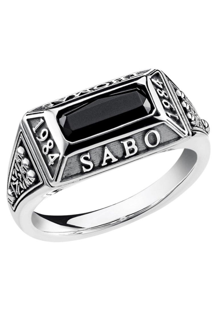 THOMAS SABO Ringe - silver coloured/black
