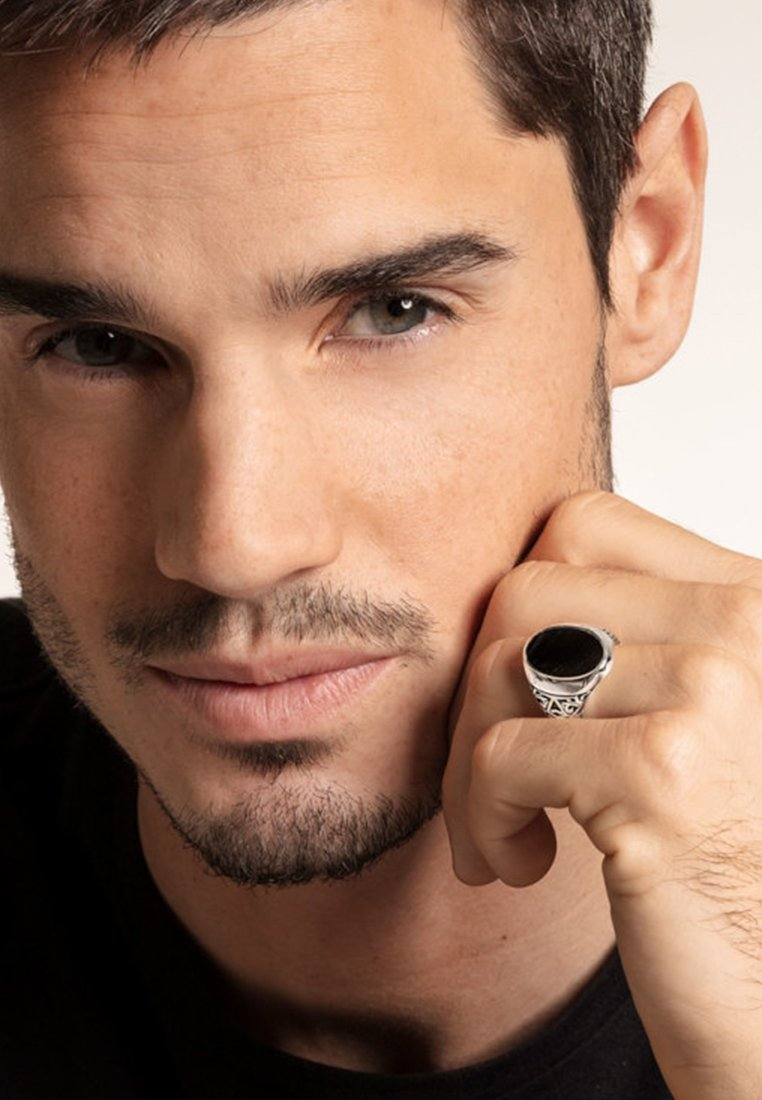 THOMAS SABO - Ring - silver/black
