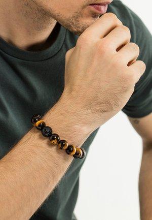 POWER  - Armband - black/brown