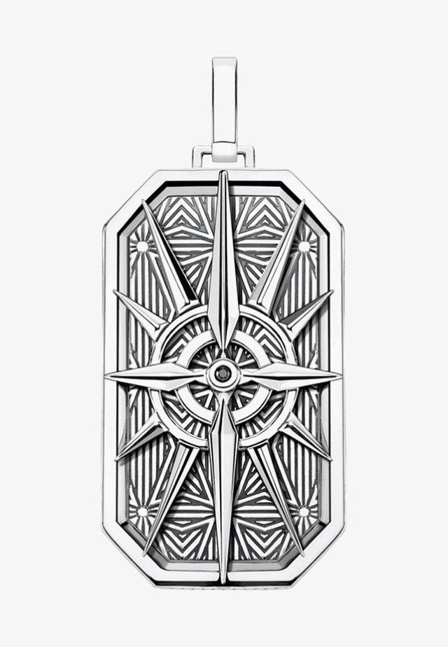 Necklace - black/silver