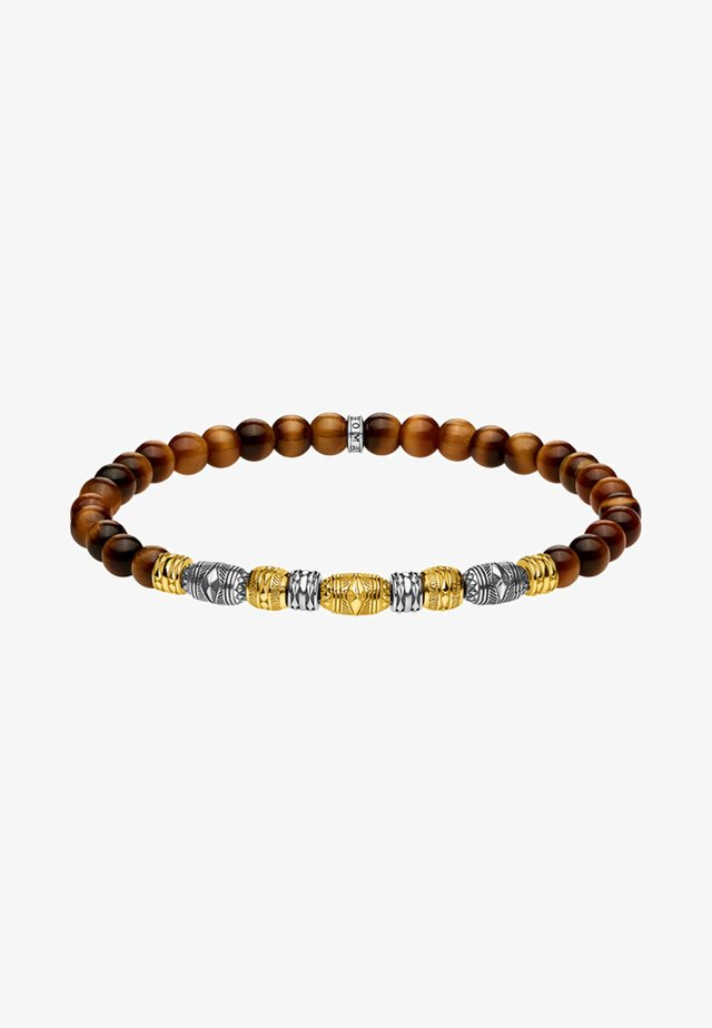 TALISMAN - Armband - gold-coloured/silver-coloured/brown