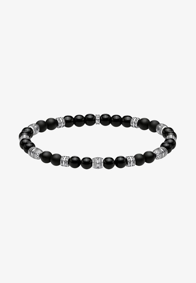 TALISMAN - Armband - black/silver-coloured